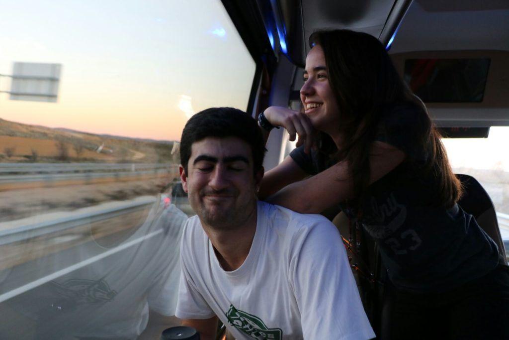 Alquiler microbus Madrid - Sierra Nevada