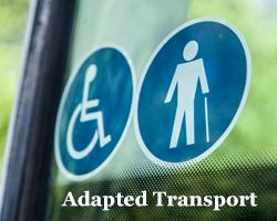 Adapted Minibus