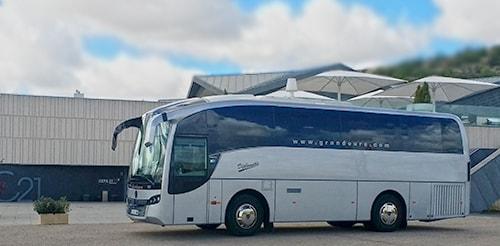 Exterior autobus de lujo de 35 plazas