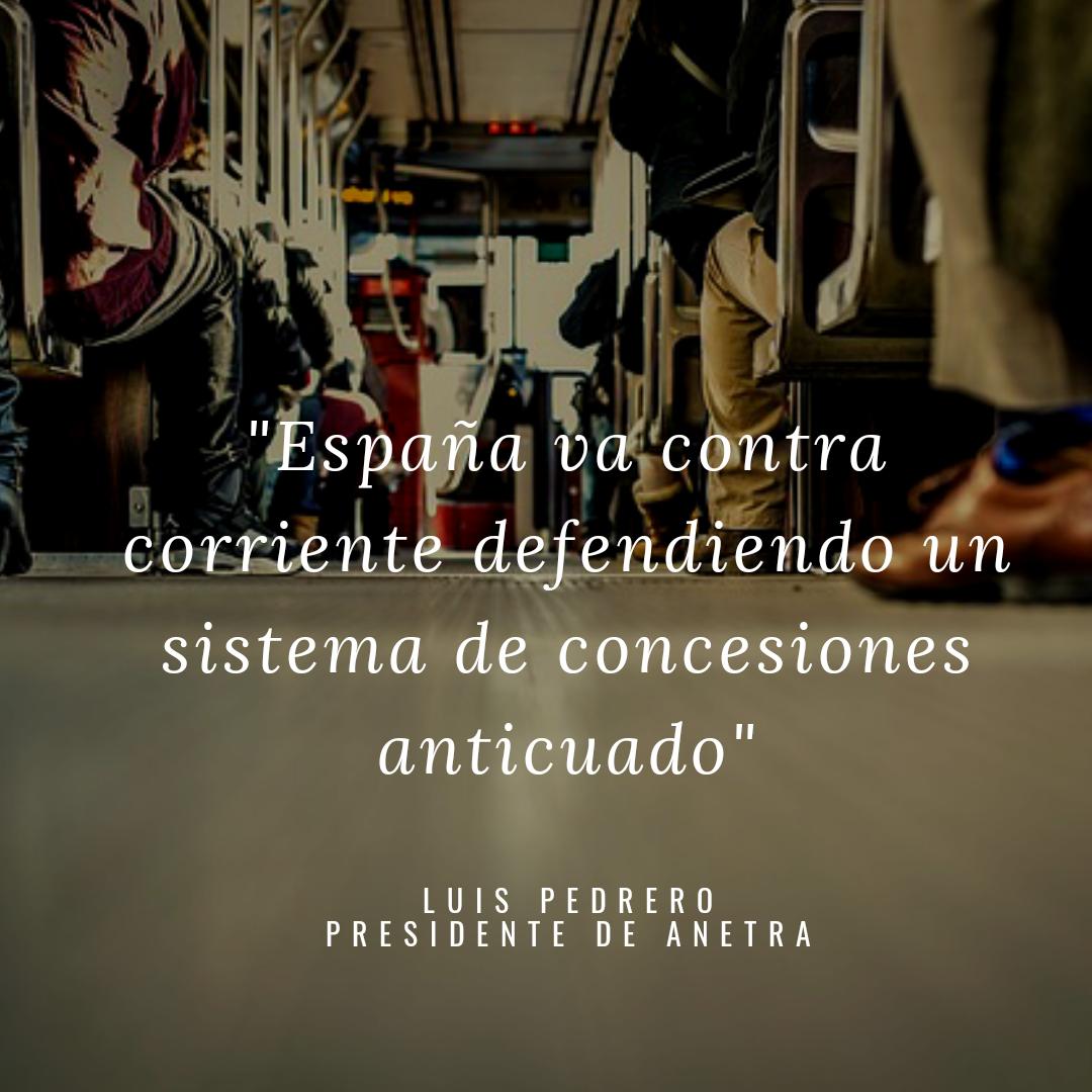 ANETRA denuncia el inmovilismo de los eurodiputados españoles para liberarizar el sector del Transporte de Viajeros por Carretera